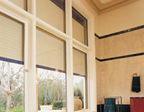 Domestic house roller shutters