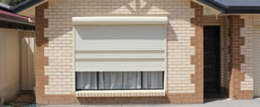 Roller shutters provide privacy and light control