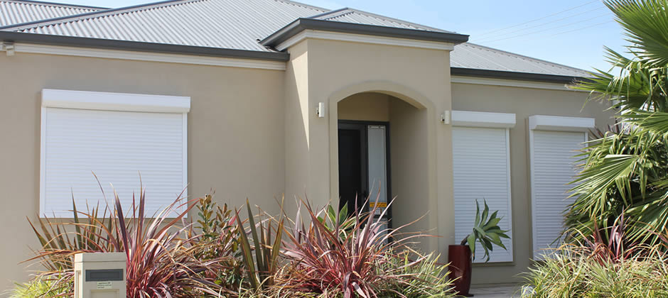 Modern home shutters northern Adelaide